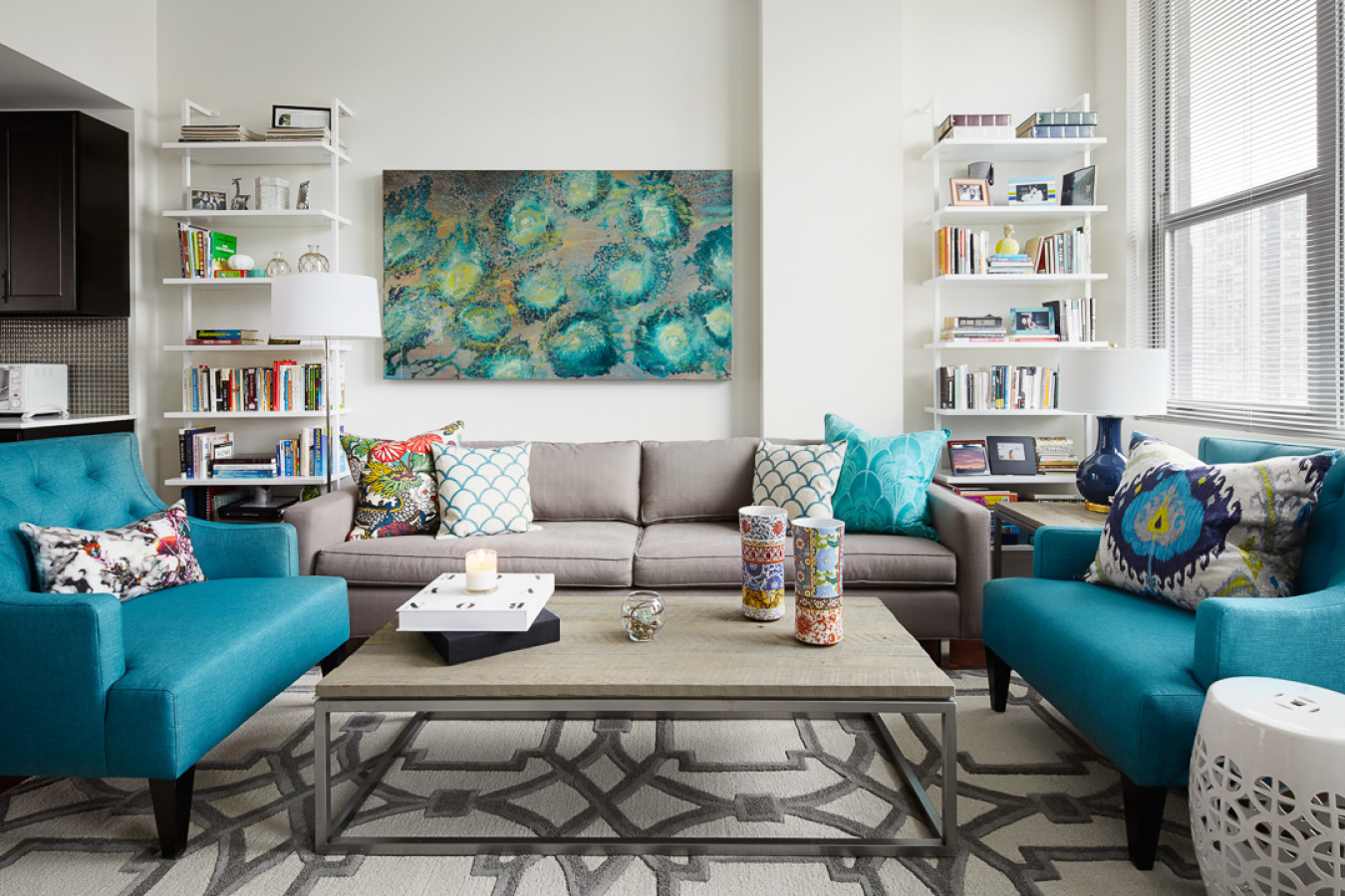 Bold & Bright in Chicago Interior Design