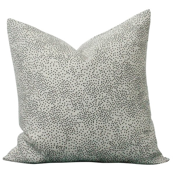 Cream Confetti pillow